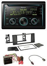 Pioneer Bluetooth 2DIN CD AUX USB MP3 Autoradio für BMW 5er E39 X5 Quadlock