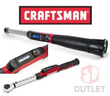 New Craftsman 1/2 in Drive Digi-Click Digital Torque Wrench 25-250 ft lbs tool