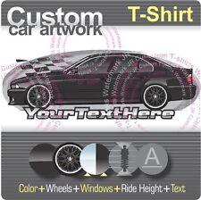 Custom T-shirt for E39 95-02 BMW 525i 528i 530i 540i V8 Sedan M5 M Sport fans