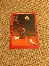 1990 Michael Jordan Career Highlights Red Border With Diamonds No Number Rare