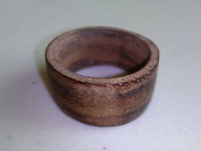 Wooden Ring Natural Bali Coconut Palm Wood / 5th Wedding Anniversary 5 year gift