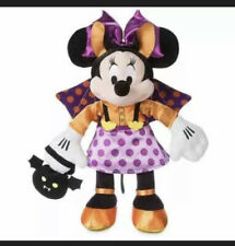 """Disney Halloween Minnie Mouse Bat Plush - 15"""" New With tags"""