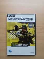 PC - CSS Counter Strike Source komplett in OVP Top