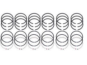 NEW Piston Ring Set 1947-1955 Kaiser Frazer 226 ci 6-cylinder CAST RINGS