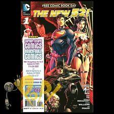 New 52 Special FCBD #1 First SIMON BAZ Green LANTERN DC Comics NM CSC/BBC 2012!