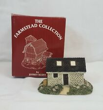 Jeffrey Scott 1810 LANG'S STONE BARN Figurine Farmstead Collection MINT in BOX