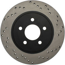 Disc Brake Rotor-Sport Drilled Disc Rear Left Stoptech fits 2005 Ford Mustang