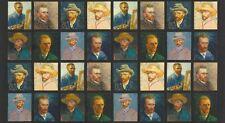 Van Gogh Digitally Printed Pre-cut Fabric Panel AVG-16596-205 Robert Kaufman