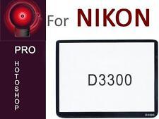 Professional 6 Schicht Echtglas Displaychutz für Nikon D3300