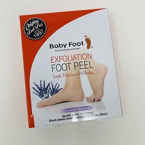 Baby Foot Original Exfoliation Foot Peel - Lavender Scented 1 Treatment NIB 2024