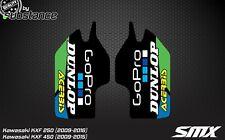 Kawasaki KXF KX250F fork protector stickers fork guard decals graphics 2009-2015