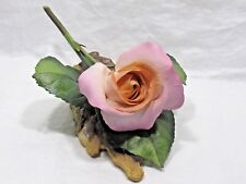 Boehm Porcelain Figurine SILVER JUBILEE ROSE Made in England RARE PERFECTION