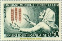 EBS France 1963 Freedom From Hunger - Contre le faim - MNH** YT1379