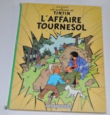 TINTIN: l'Affaire Tournesol BD French Comic Book HERGE Casterman 1960s
