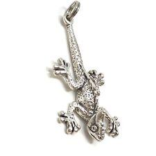 Lézard collier-argent sterling 925-Gecko Charm Reptile Pendentif Désert NEUF