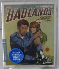Badlands (Disco Blu-Ray, mar-2013, Criterion) MARTIN SHEEN, SISSY SPACEK 1973