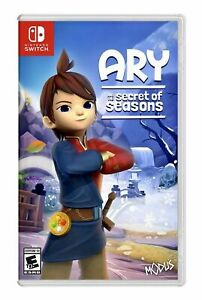 New Sealed Nintendo Switch Ary and the Secret of Seasons WILL SHIP TOMORROW