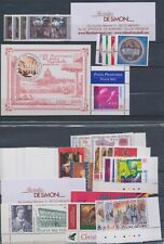 2002 Vatican, Stamps, Year Complete, 34 Val +1 Bf +1 Booklet + Aut