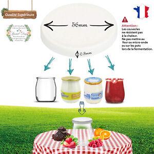 couvercles pot yaourt compatible la laitière et toute marque pour yaourtière