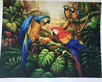 "Oil Painting Printed On Canvas 12x16"" Modern Wall flowersCanvas Art NO frame"