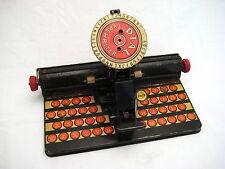 Vintage Marx Tin MR Dial Typewriter