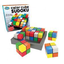 Think Fun Colour Cube Sudoku 3d Puzzle by Paul Lamond Games - &