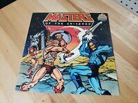 He-Man & Masters Of The Universe Vinyl Record LP 1983 Kid Stuff Records KSS 5042