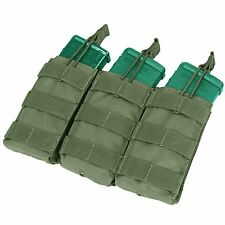 Condor MA27 OD Green MOLLE Triple Open Top 5.56 .223 Bungee Magazine Mag Pouch