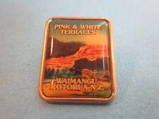 Metal & Enamel Pin Badge. Waimangu, Rotorua. New Zealand. Good Condition