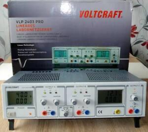 Voltcraft VLP pro Labornetzteil einstellbar 40V/DC 252 W-3 Ausgänge-TOP Zustand