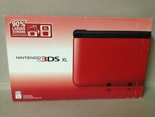 Nintendo 3DS XL Red & Black Handheld System (NTSC) BRAND NEW!!!  Firmware 4.5