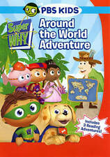Super Why: Around the World Adventure / New and Sealed