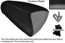 GREY & BLACK CUSTOM FITS APRILIA RSV MILLE 98-00 REAR PILLION SEAT COVER