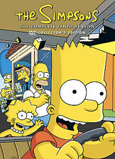 The Simpsons - Season 10 (DVD, 2009, 4-Disc Set, Brand New, Sealed)