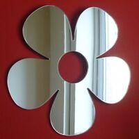 Daisy Shaped Acrylic Mirrors (Several Sizes Available)