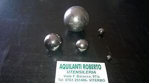 Sfere in acciaio cementato grado precisione G100 AISI52100  varie misure