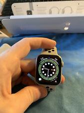 Apple Watch Series 4 Nike+ 44 mm GPS Silver Pure Platinum/Black Sport Band