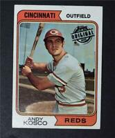 2015 Topps Stamped Buyback 1974 #34 Andy Kosco - VgEx+