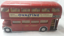 Huge RARE Vintage 1:42 Triang Spot-on Routemaster LT Ovaltine Bus Diecast Lesney