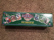 1990 UPPER DECK BASEBALL COMPLETE SET Factory Sealed