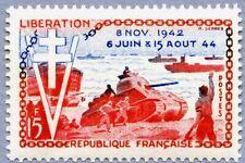 Timbre France Y&T 983 Neuf** - 10ème anniversaire de la Libération - 1954
