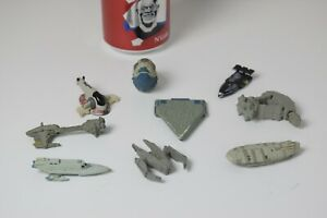 "LOT N°3 Star Wars Micro Machine vaisseau  / figurine / personnage Vintage 90"""