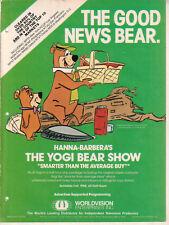 Hanna-Barbera's The Yogi Bear Show 1988 Ad- Smarter Than The Average Buy