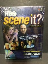 SCENE IT? DVD Trivia Game Pack: HBO Sopranos, Sex in the City, Band of Bros.