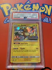 Psa 10 Staff Prerelease Raichu Holo Pokemon Card Gem Mint Pop7  Crimson Invasion