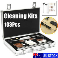 103pcs Universal Gun Cleaner Cleaning Kit Pistol Rifle Shotgun Firearm Cleaner /