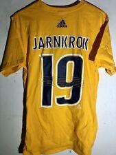 adidas  NHL T-Shirt Nashville Predators Calle Jarnkrok Gold sz S