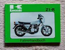 Kawasaki Z1-R Fahrerhandbuch, original, neu, kein Nachdruck!