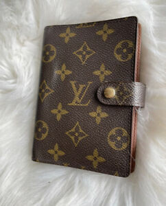 Louis Vuitton Agenda Diary Notebook Cover PM Pocket Planner
