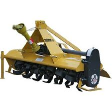 New! 5' Gear Driven Rotary Tiller Implement with Adjustable Feet Category 1!